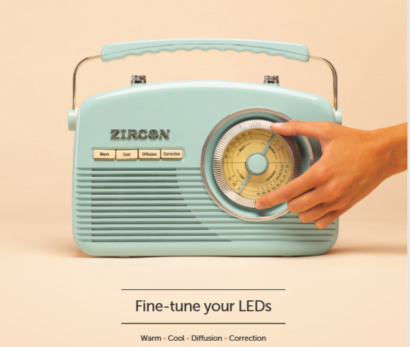 Zircon LED filtre