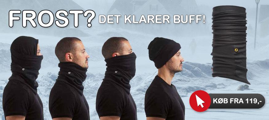 Buff halsbeskyttelse mod kulde